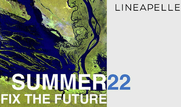 Why green and why blue: Summer 2022 according to Lineapelle