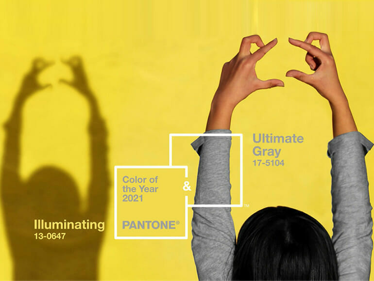 Grey and yellow, hope and strength: Pantone gets double for 2021